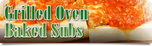 GRILLED OVEN BAKED SUBS image